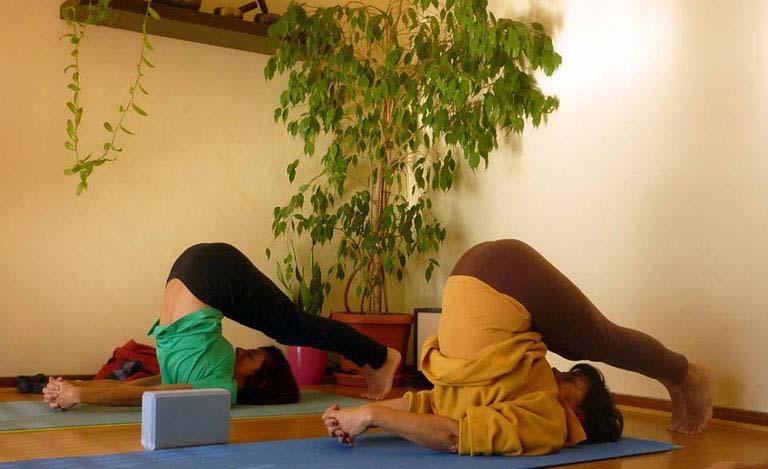 Dor na prática de yoga