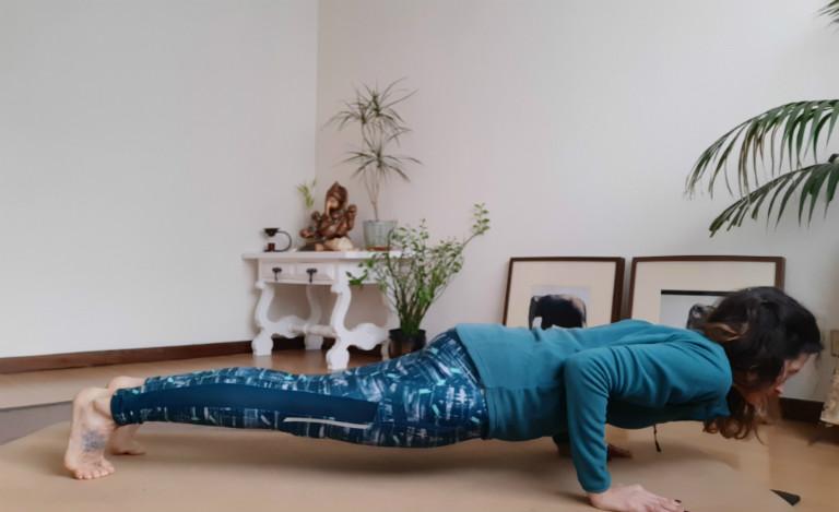 Erros mais comuns - Chaturanga Dandasana